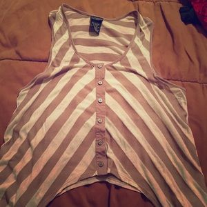 Daytrip StrIped Vest: L